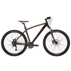 """Велосипед 27,5"""" Pride Rebel 7.3 черный/оранжевый/красный 2017, фото 1"""