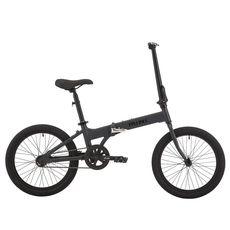 "Велосипед 20"" Pride MINI 1 темно-серый/черный 2018 (SKD-92-45)111, фото 1"