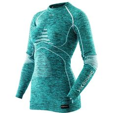 Термофутболка X-Bionic Energy Accumulator Evo Melange Lady Shirt Long Sleeves Round Neck A619 (I100668), фото 1