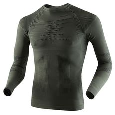 Термофутболка X-Bionic Hunting Shirt Long Sleeves Round Neck Xs E122 (I020239), фото 1