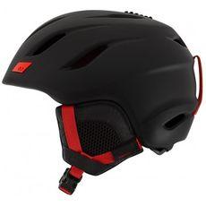 Шлем горнолыжный Giro Nine Matte Black/яскр.Red, фото 1