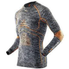 Термофутболка X-Bionic Energy Accumulatop Evo Melange Shirt Long Sleeves G372 (I100664), фото 1