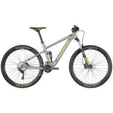 "Велосипед 27,5"" Bergamont Contrail 5.0 2018 silver/black/lime (matt), фото 1"