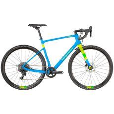 "Велосипед 28"" Bergamont Grandurance CX Team 2018 cyan/neon yellow (matt), фото 1"