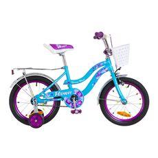 """Велосипед 16"""" Formula Flower 14G голубой с фиолетовым 2018, фото 1"""