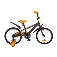"""Велосипед 18"""" Formula Wild черно-оранжевый 2018, фото 1"""