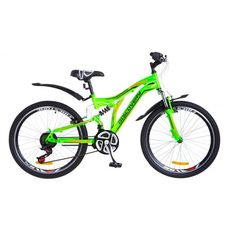 "Велосипед 24"" Discovery Rocket AM2 14G Vbr зелено-оранжевый 2018, фото 1"