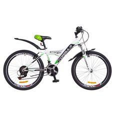 """Велосипед 24"""" Formula Stormy AM 14G Vbr бело-зеленый 2018, фото 1"""