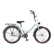 """Велосипед 24"""" Formula Smart 14G Vbr бело-зеленый с фонарём 2018, фото 1"""