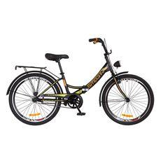 """Велосипед 24"""" Formula Smart 14G Vbr черно-оранжевый с фонарём 2018, фото 1"""