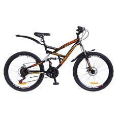 "Велосипед 26"" Discovery Canyon AM2 14G DD черно-оранжевый 2018, фото 1"
