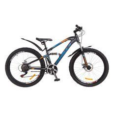 """Велосипед 26"""" Formula Blaze AM2 14G DD серо-сине-оранжевый 2018, фото 1"""