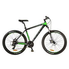"Велосипед 26"" Leon HT-80 AM 14G DD Al черно-зеленый 2017, фото 1"
