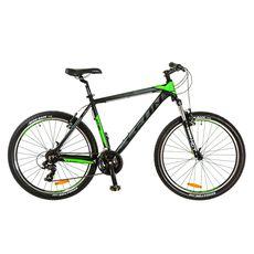 """Велосипед 26"""" Leon HT-85 AM 14G Vbr Al черно-зеленый 2017, фото 1"""