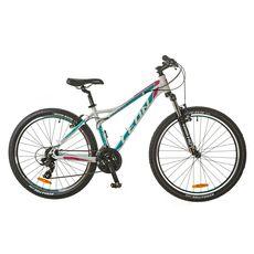 """Велосипед 26"""" Leon HT-Lady AM 14G Vbr Al бело-голубой 2017, фото 1"""