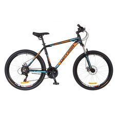 "Велосипед 26"" Optimabikes Motion AM 14G DD Al черно-оранжево-синий 2017, фото 1"