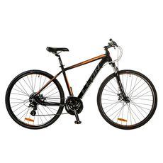 """Велосипед 28"""" Leon HD-80 AM Hydraulic lock out 14G DD Al черно-оранжевый 2017, фото 1"""