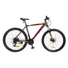 """Велосипед 29"""" Optimabikes F-1 AM 14G HDD Al черно-красный с желтым 2017, фото 1"""
