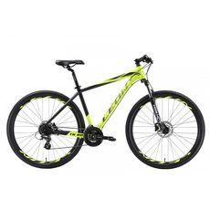 """Велосипед 29"""" Leon TN-80 AM Hydraulic lock out 14G HDD Al желтый акцент с черным 2018, фото 1"""