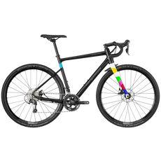 "Велосипед 28"" Bergamont Grandurance CX 6.0 2018 black/dark silver/turquoise (matt), фото 1"
