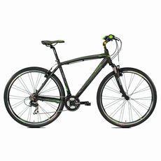 "Велосипед 28"" Lombardo Amantea 100 U 2017 black/green, фото 1"