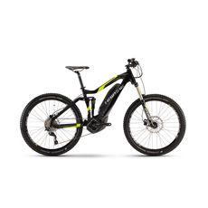 Велосипед Haibike Sduro AllMtn 5.0 400Wh 2017 ход:150мм, черный, фото 1