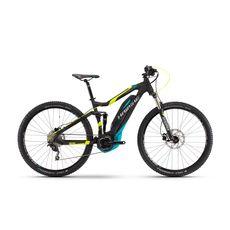 Велосипед Haibike Sduro FullNine 5.0 400Wh, 2017 черный, ход:100мм, фото 1