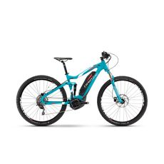 Велосипед Haibike Sduro FullNine 5.0 400Wh, 2017 синий, ход:100мм, фото 1