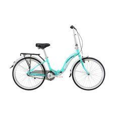 "Велосипед 24"" Winner Ibiza бирюза (складной) 2018, фото 1"