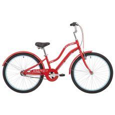 Велосипед 24'' Pride Sophie 4.2 красный 2018 (SKD-17-55), фото 1