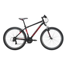 "Велосипед 27,5"" Apollo Aspire 10 Gloss Black/Gloss Red/Gloss White 2017, фото 1"