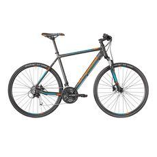 "Велосипед 28"" Bergamont Helix 5.0 2018 dark silver/petrol/orange (matt), фото 1"