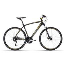 "Велосипед 28"" Lombardo Matera 500 U 2017 black/yellow, фото 1"