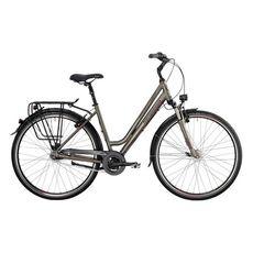"Велосипед 28"" Bergamont Horizon N7 Amsterdam, 2014 grey/red/black (matt), фото 1"