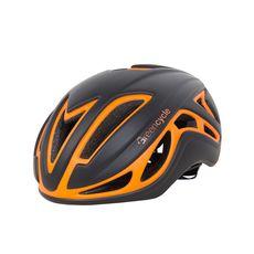 Шлем Green Cycle Jet для шоссе/триатлона и гонок с раздельным стартом черно-оранж матовый, фото 1