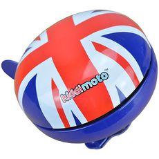 Дзвінок KiddiMoto британський прапор, великий (BEL-97-15), фото 1