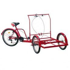 Велосипед трехколесный Кофейный, фото 1