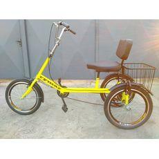 Велосипед трехколесный Атлет з корзиной, фото 1