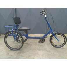 Велосипед трехколесный Атлет з корзиной, фото 3