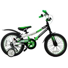 Велосипед Comanche Sheriff W16 Черный-зеленый-белый, фото 1