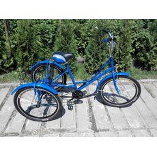 """Велосипед трехколесный Городской с корзиной 24"""", фото 2"""