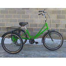 """Велосипед трехколесный Городской с корзиной 24"""", фото 1"""