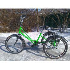 """Велосипед трехколесный Городской с корзиной 24"""", фото 4"""