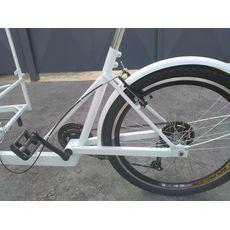 Велосипед трехколесный Кофейный, фото 4
