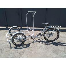 Велосипед трехколесный Кофейный, фото 5