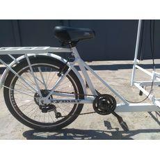 Велосипед трехколесный Кофейный, фото 6