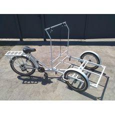 Велосипед трехколесный Кофейный, фото 8