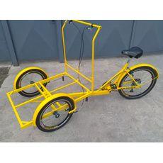 Велосипед трехколесный Кофейный, фото 11