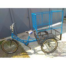 Велосипед трехколесный Цветочный, фото 2
