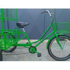 Велосипед трехколесный Цветочный, фото 11
